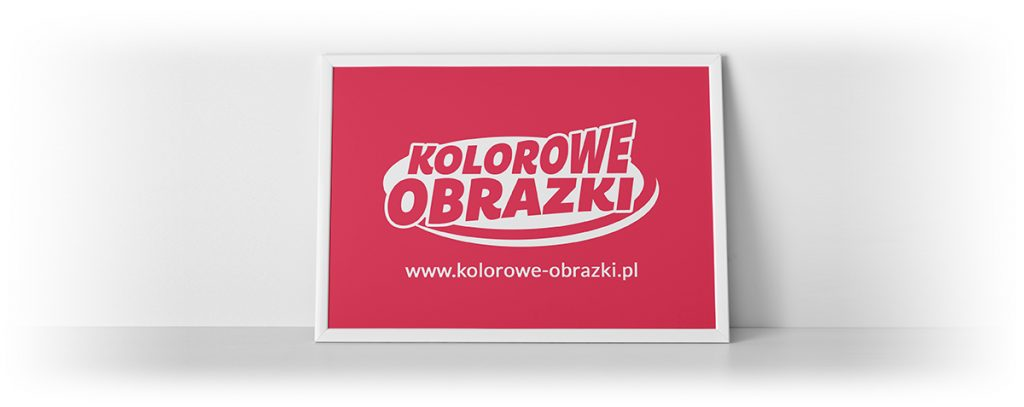 Redesign, odświeżenie logo portalu www.kolorowe-obrazki.pl