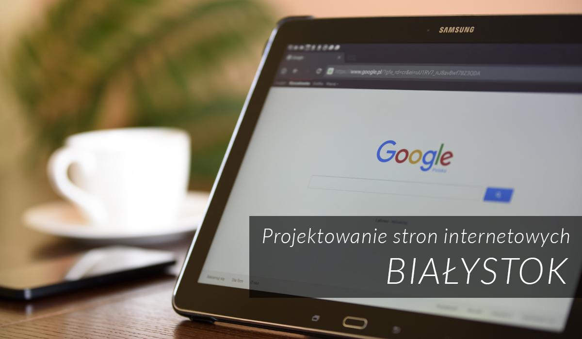 Białystok - Projektowanie stron internetowych